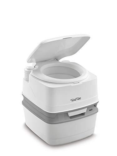 Thetford 92814 Porta Potti 165 Tragbare Toilette Qube, Wei-Grau 414 x 383 x 427 mm, Normal, 91081397