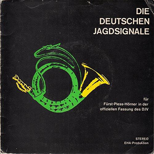 Stief, Reinhold / Deutscher Jagdschutz.Verband / Die Deutschen Jagdsignale / Klapp-Bildhülle / EHA-Produktion 5003 / Deutsche Pressung / 7 Zoll Vinyl Single Schallplatte SP /