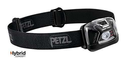 PETZL Unisex– Erwachsene Tactikka Stirnlampe, Schwarz, 12.2